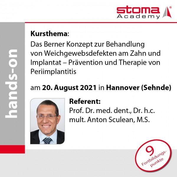 Prof. Sculean | 20.08.2021 in Hannover | Das Berner Konzept zur Behandlung von ...