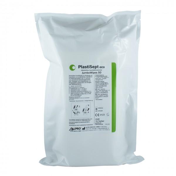 PlastiSept eco JumboWipes 50, 12 Nachfüllpackungen