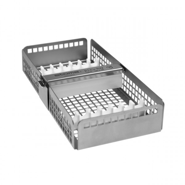 p.i.c.®-tray mit 2 Stegen und Spannbügel