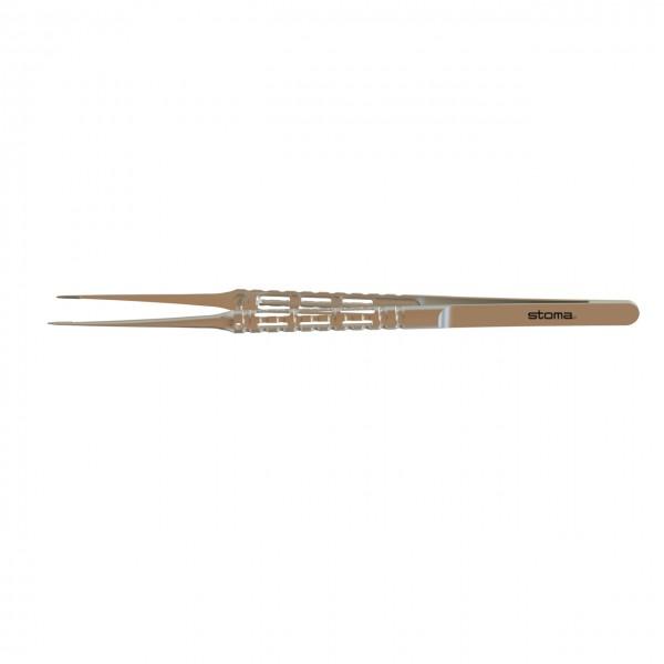 Pinzette, Cooley, atraumatisch 0,8 mm, gerade, 17,5 cm, hy-light®