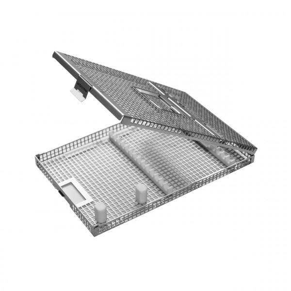 p.i.c.®-tray mit 2 Stegen und Deckel