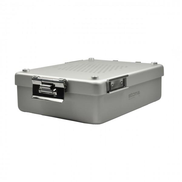 stoma - p.i.c.®-container 1/2, Aluminium, L225 x B175 x H70 mm