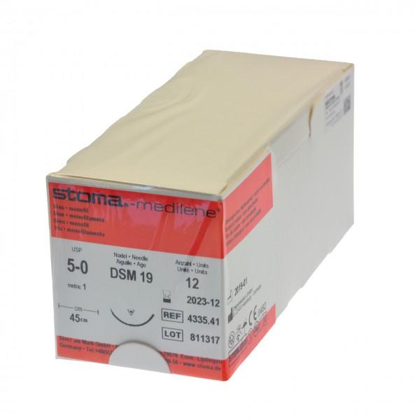 Medilene DSM 19, 5-0, 45 cm, 1 Dutzend
