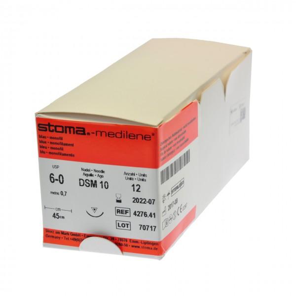 Medilene DSM 10, 6-0, 45 cm, 1 Dutzend