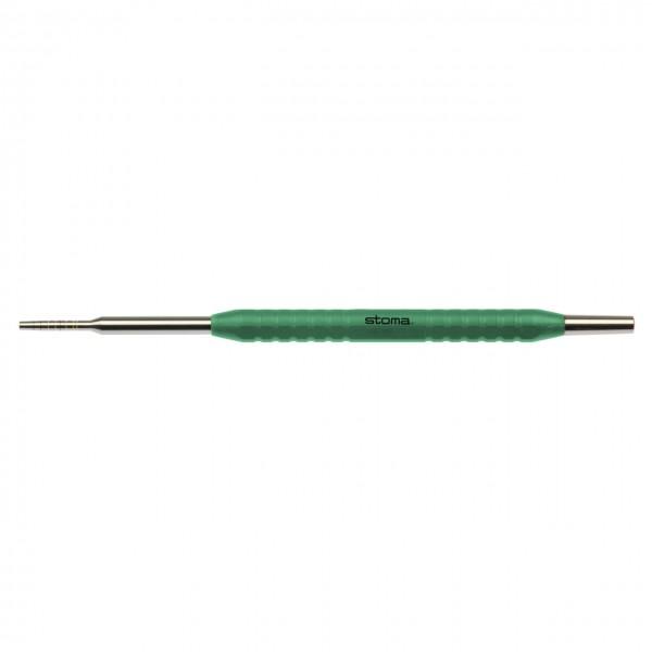 Kondenser, Khayat, konkav, gerade, color-stick® grün, Fig. 2