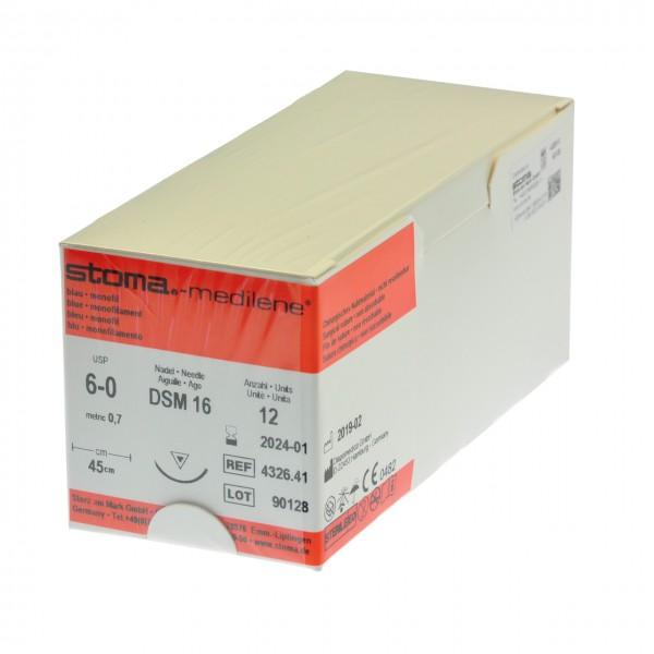 Medilene DSM 16, 6-0, 45 cm, 1 Dutzend