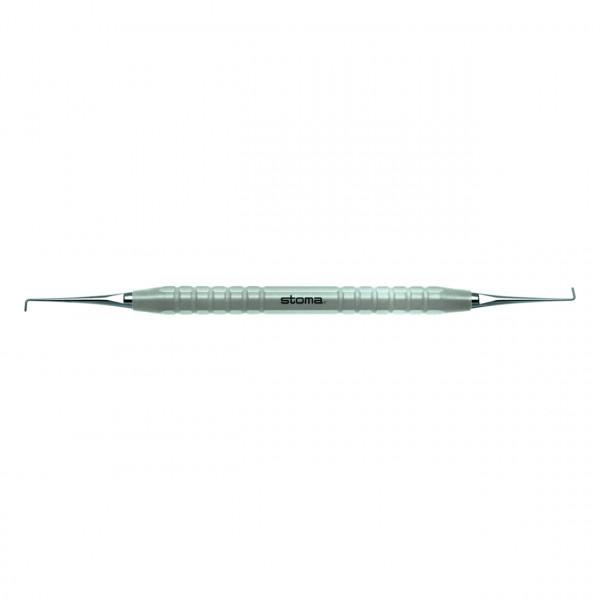 Endo-Mikroplanstopfer, gerade, color-stick® grau