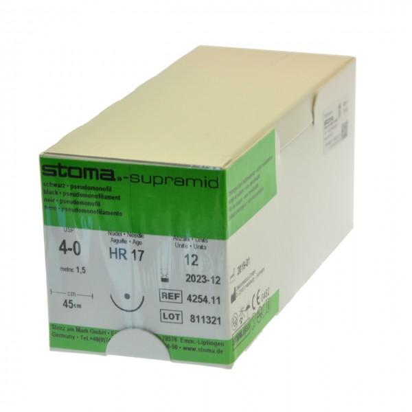 Supramid HR 17, 4-0, 45 cm, 1 Dutzend